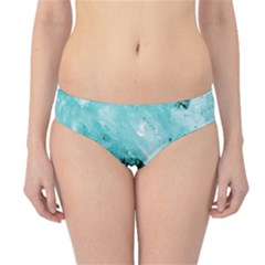 Turquoise Abstract Hipster Bikini Bottoms