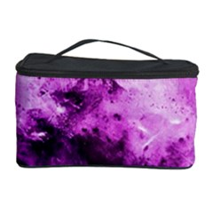 Bright Pink Abstract Cosmetic Storage Cases