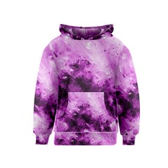 Bright Pink Abstract Kid s Pullover Hoodies