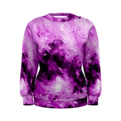 Bright Pink Abstract Women s Sweatshirts