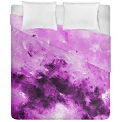 Bright Pink Abstract Duvet Cover (double Size)