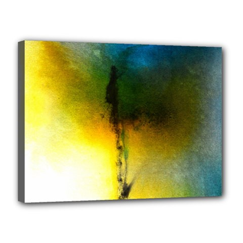 Watercolor Abstract Canvas 16  X 12