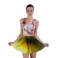 Watercolor Abstract Mini Skirts
