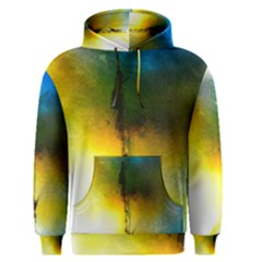 Watercolor Abstract Men s Pullover Hoodies
