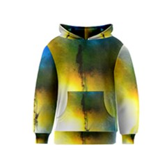 Watercolor Abstract Kid s Pullover Hoodies