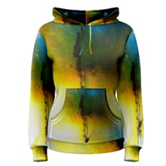 Watercolor Abstract Women s Pullover Hoodies
