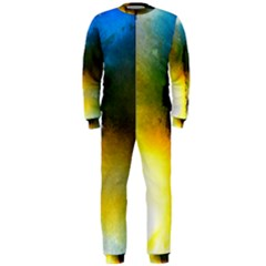 Watercolor Abstract OnePiece Jumpsuit (Men)