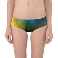 Watercolor Abstract Classic Bikini Bottoms