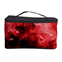 Red Abstract Cosmetic Storage Cases