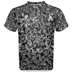 Gray Cubes Men s Cotton Tees