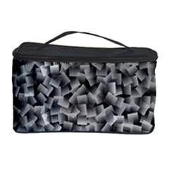 Gray Cubes Cosmetic Storage Cases