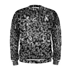 Gray Cubes Men s Sweatshirts
