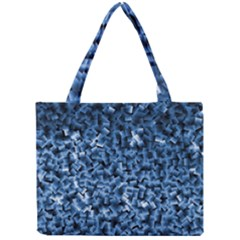 Blue Cubes Tiny Tote Bags
