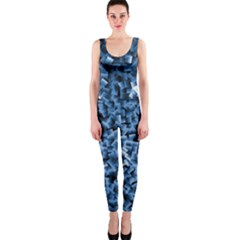 Blue Cubes OnePiece Catsuits