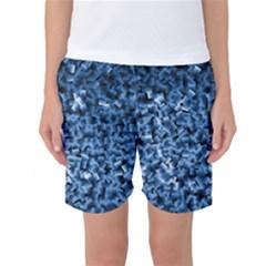 Blue Cubes Women s Basketball Shorts