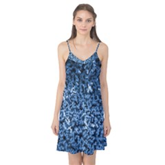Blue Cubes Camis Nightgown