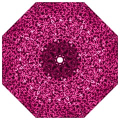Pink Cubes Hook Handle Umbrellas (Large)