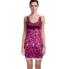 Pink Cubes Bodycon Dresses