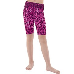 Pink Cubes Kid s Swimwear