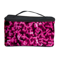 Pink Cubes Cosmetic Storage Cases