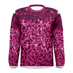 Pink Cubes Men s Long Sleeve T-shirts
