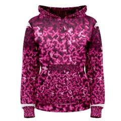 Pink Cubes Women s Pullover Hoodies