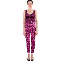 Pink Cubes OnePiece Catsuits