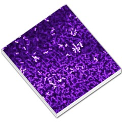 Purple Cubes Small Memo Pads
