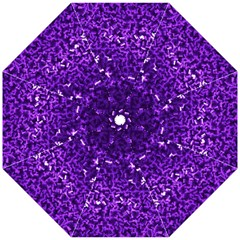 Purple Cubes Golf Umbrellas
