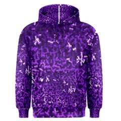 Purple Cubes Men s Pullover Hoodies