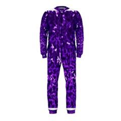 Purple Cubes OnePiece Jumpsuit (Kids)