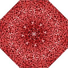 Red Cubes Folding Umbrellas