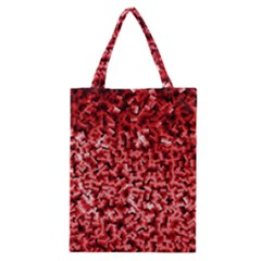 Red Cubes Classic Tote Bags