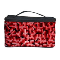 Red Cubes Cosmetic Storage Cases