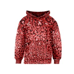 Red Cubes Kid s Pullover Hoodies