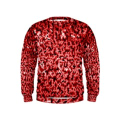 Red Cubes Boys  Sweatshirts