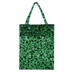 Green Cubes Classic Tote Bags