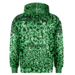 Green Cubes Men s Pullover Hoodies