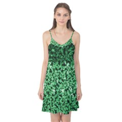 Green Cubes Camis Nightgown