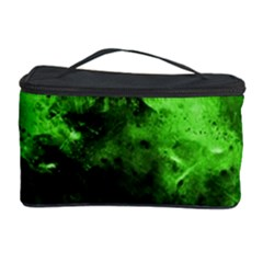 Bright Green Abstract Cosmetic Storage Cases