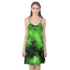 Bright Green Abstract Camis Nightgown