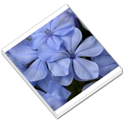 Bright Blue Flowers Small Memo Pads