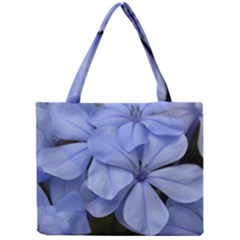 Bright Blue Flowers Tiny Tote Bags