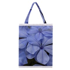Bright Blue Flowers Classic Tote Bags