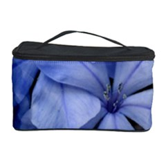 Bright Blue Flowers Cosmetic Storage Cases