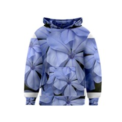 Bright Blue Flowers Kid s Pullover Hoodies