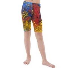 Space Pollen Kid s swimwear