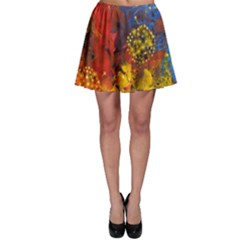 Space Pollen Skater Skirts