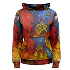 Space Pollen Women s Pullover Hoodies