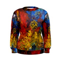 Space Pollen Women s Sweatshirts